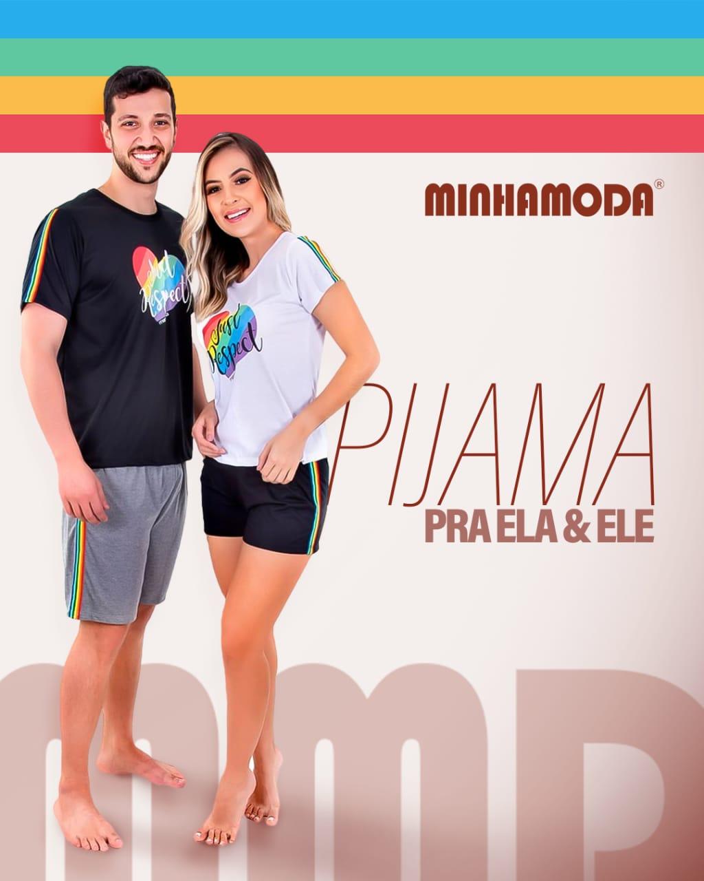Conjunto Pijama Freedom Rainbow